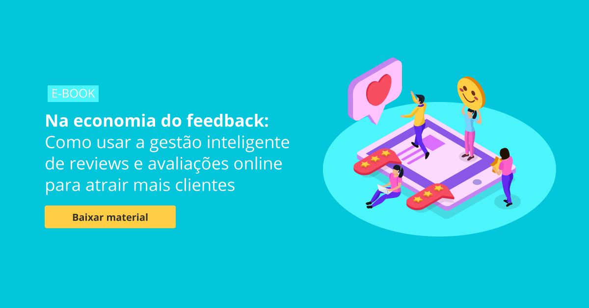 Ebook Gestão de reviews para atrair mais clientes