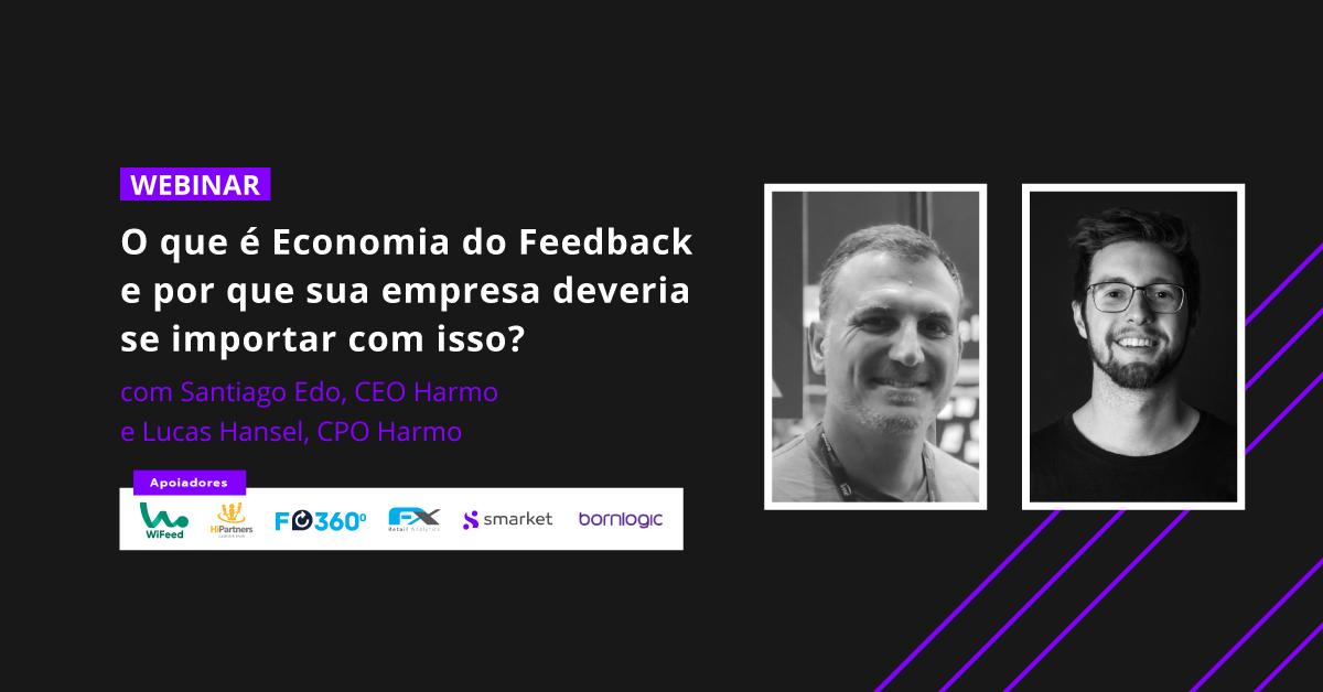 webinar o que é economia do feedback