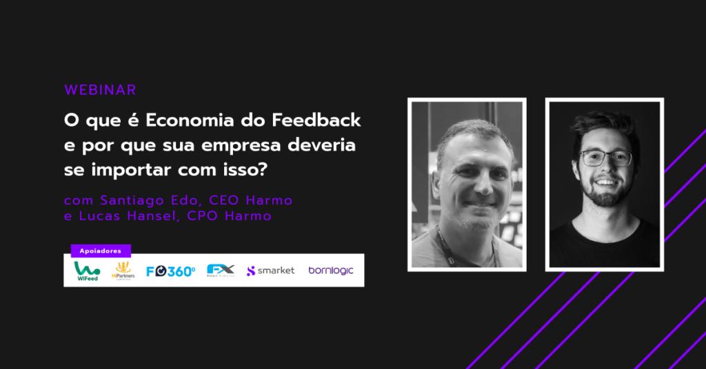 webinar economia do feedback experiência do cliente estratégia